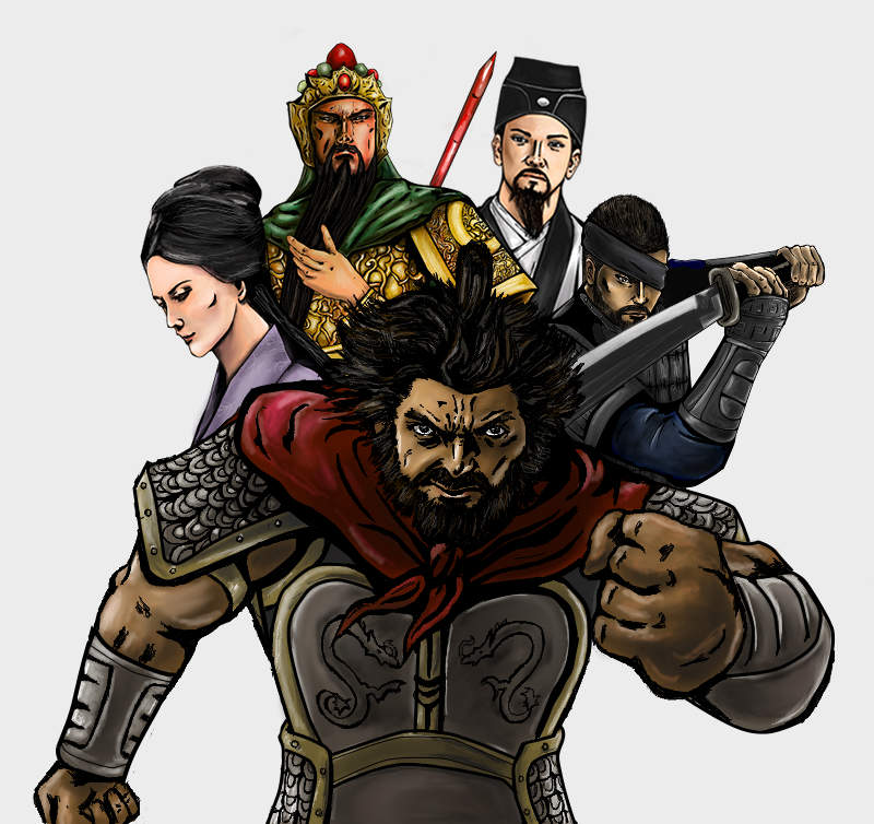 Three Kingdoms Art